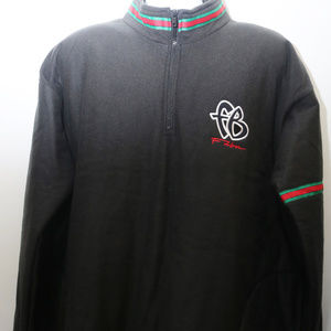 "90's Vintage ""FUBU"" Colorblocked Fleece Pullover"